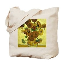 Van Gogh - Still Life Vase with Fifteen S Tote Bag