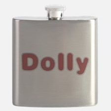 Dolly Santa Fur Flask