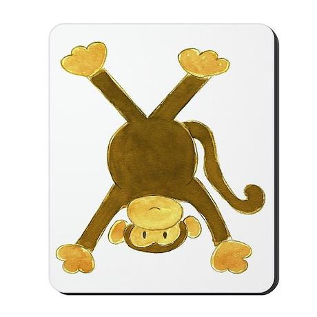 Tumbling Monkey Upside Down Mousepad