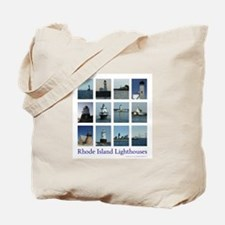 Rhode Island Lighthouses Tote Bag