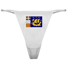 St Pierre and Miquelon Classic Thong