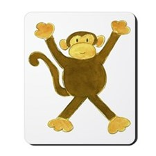Tumbling Monkey Mousepad