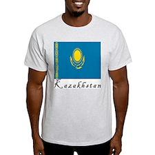 Kazakhstan Ash Grey T-Shirt