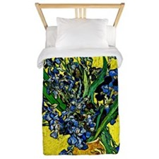 Van Gogh - Still Life with Irises Twin Duvet