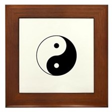 Tai Chi Framed Tile