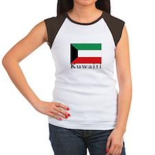 Kuwait Women's Cap Sleeve T-Shirt