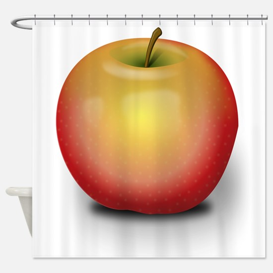 Macintosh Apple Shower Curtain
