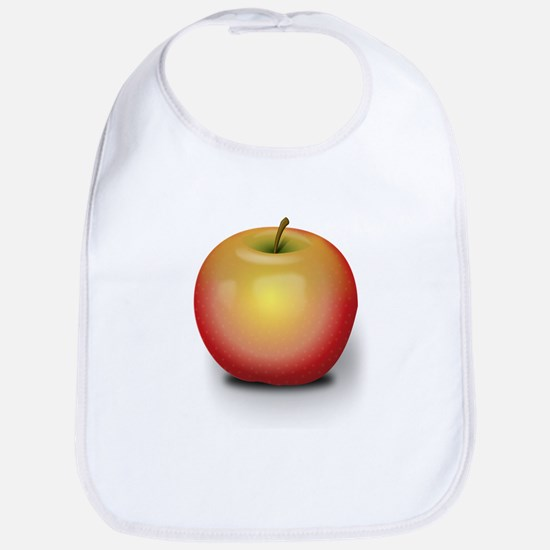 Macintosh Apple Bib