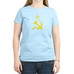 Yellow Hammer Sickle Star Women's Light T-Shirt