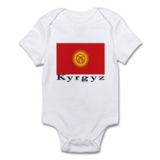 Kyrgyzstan Infant Bodysuit