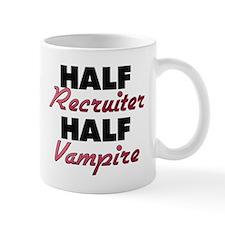 Half Recruiter Half Vampire Mugs