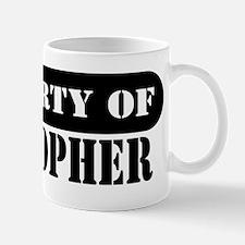Property of Cristopher Mug