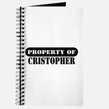 Property of Cristopher Journal