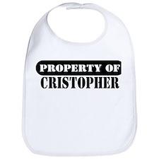 Property of Cristopher Bib