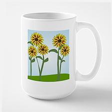 Sunflowers 5 B Mugs