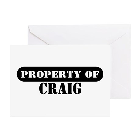 Property of Craig Greeting Cards (Pk of 10)