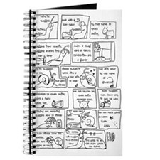 """slugger comic"" notebook"