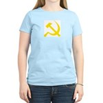 Yellow Hammer Sickle Women's Light T-Shirt