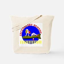 Incendiary Blonde Tote Bag