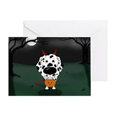 Dalmatian Devil Greeting Card