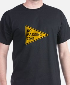 No Passing Zone - USA T-Shirt