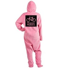 Purpose Pedalers Footed Pajamas