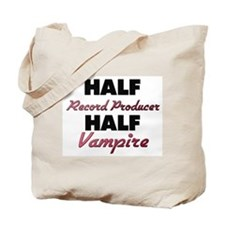 Half Record Producer Half Vampire Tote Bag