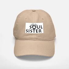 Soul Sister Baseball Baseball Cap Comes in Khaki and White