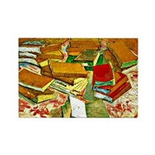 Van Gogh - Still Life French Nove Rectangle Magnet