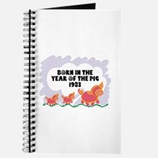 1983 Year Of The Pig Journal