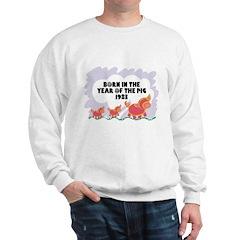 1983 Year Of The Pig Sweatshirt