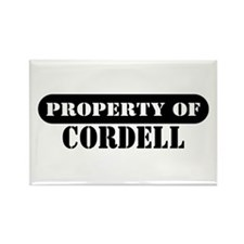 Property of Cordell Rectangle Magnet