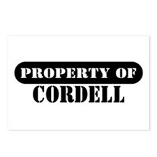 Property of Cordell Postcards (Package of 8)