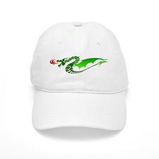 Green Dragon Baseball Cap