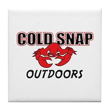 Cold Snap Tile Coaster