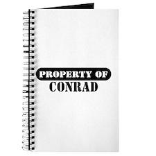 Property of Conrad Journal