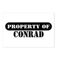 Property of Conrad Postcards (Package of 8)