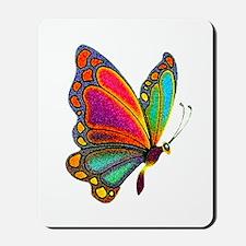 Rainbow Butterfly Mousepad