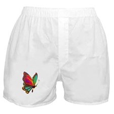 Rainbow Butterfly Boxer Shorts
