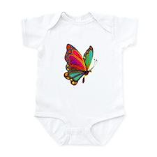 Rainbow Butterfly Infant Bodysuit