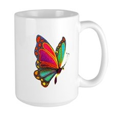 Rainbow Butterfly Mug