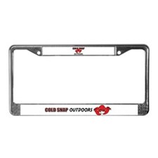 Cold Snap License Plate Frame