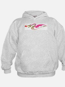 Pink Dragon Hoodie