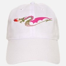 Pink Dragon Baseball Baseball Cap