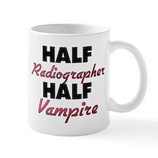 Half Radiographer Half Vampire Mugs