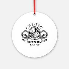 CounterTerrorism Ornament (Round)