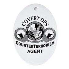 CounterTerrorism Oval Ornament