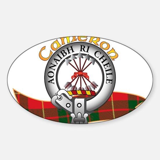 Cameron Clan Decal