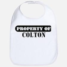 Property of Colton Bib