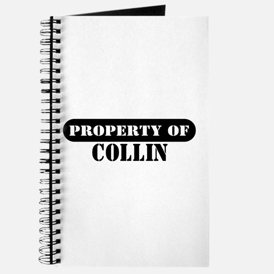 Property of Collin Journal